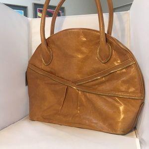 Zina Eva Large Camel Shoulder Bag